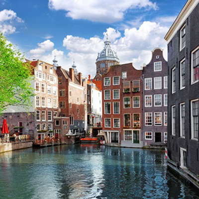 Amsterdam, Brussels, Paris by Rail from R 25 200 pps