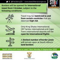South African Travel Restrictions simplified